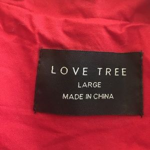 Love Tree Jackets & Coats - B2G1🎉Love Tree utility vest in bright red